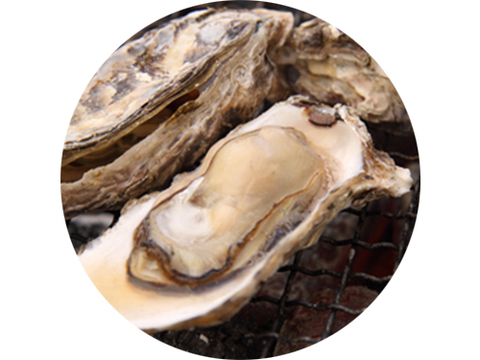 焼き牡蠣蒸し牡蠣W食べ放題