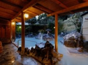 霧島国際ホテル 露天風呂