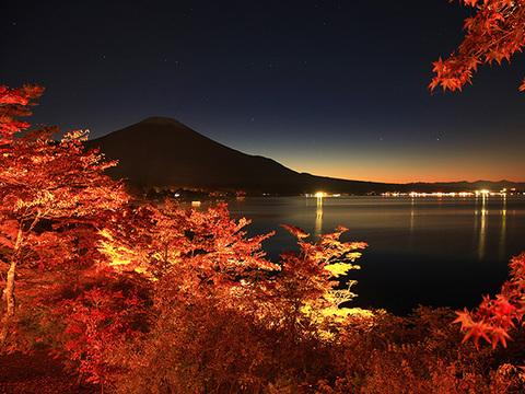 山中湖紅葉祭りイメージ