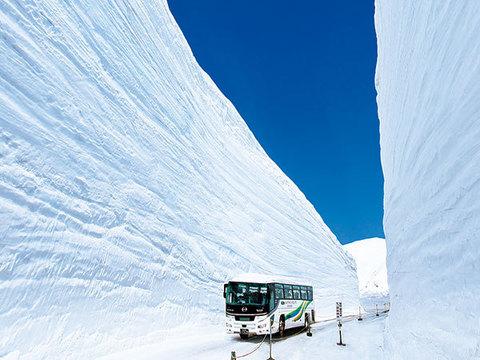雪の大谷イメージ